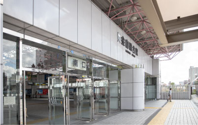 JR金山駅
